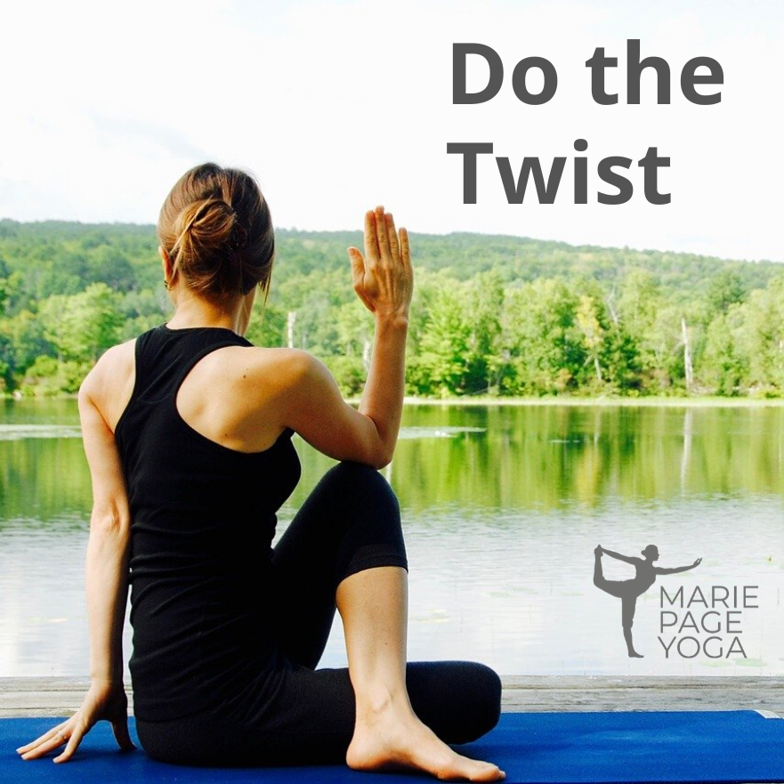 Do the Twist: Revolved Postures in Yoga